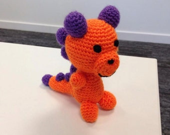 MADE TO ORDER - Handmade Dinosaur Crochet Amigurumi Doll - Made to order