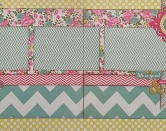 Believe in Something Wonderful - Pre-cut 2-Page 12x12 Scrapbook Layout DIY Kit