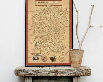 Rocky Mountain National park, Rocky Mountain National Park Map, see America map, Colorado map, Estes park map