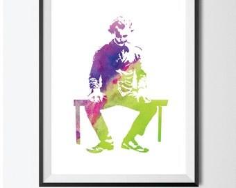 The Joker/Joker Inspired Print