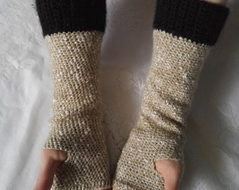 Crochet Fingerless Gloves, Armwarmers