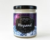 Rhysand   A Court of Mist and Fury Scented Vegan Soy Candle  