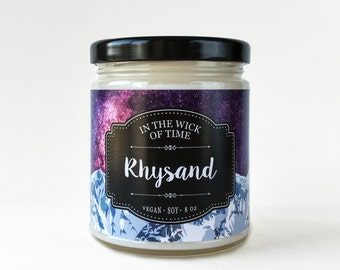 Rhysand | Scented Vegan Soy Candle |