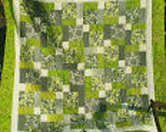 Green disappearing 9 patch