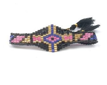 ethnic beads friendship bracelet