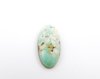 Natural Pilot Mountain Turquoise Cabochon