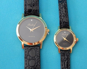 Vintage Bellini Watches Matched Set for Man and Women