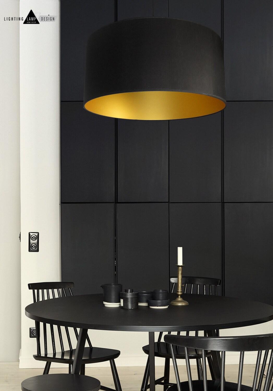 Black Amp Gold Pendant Lighting
