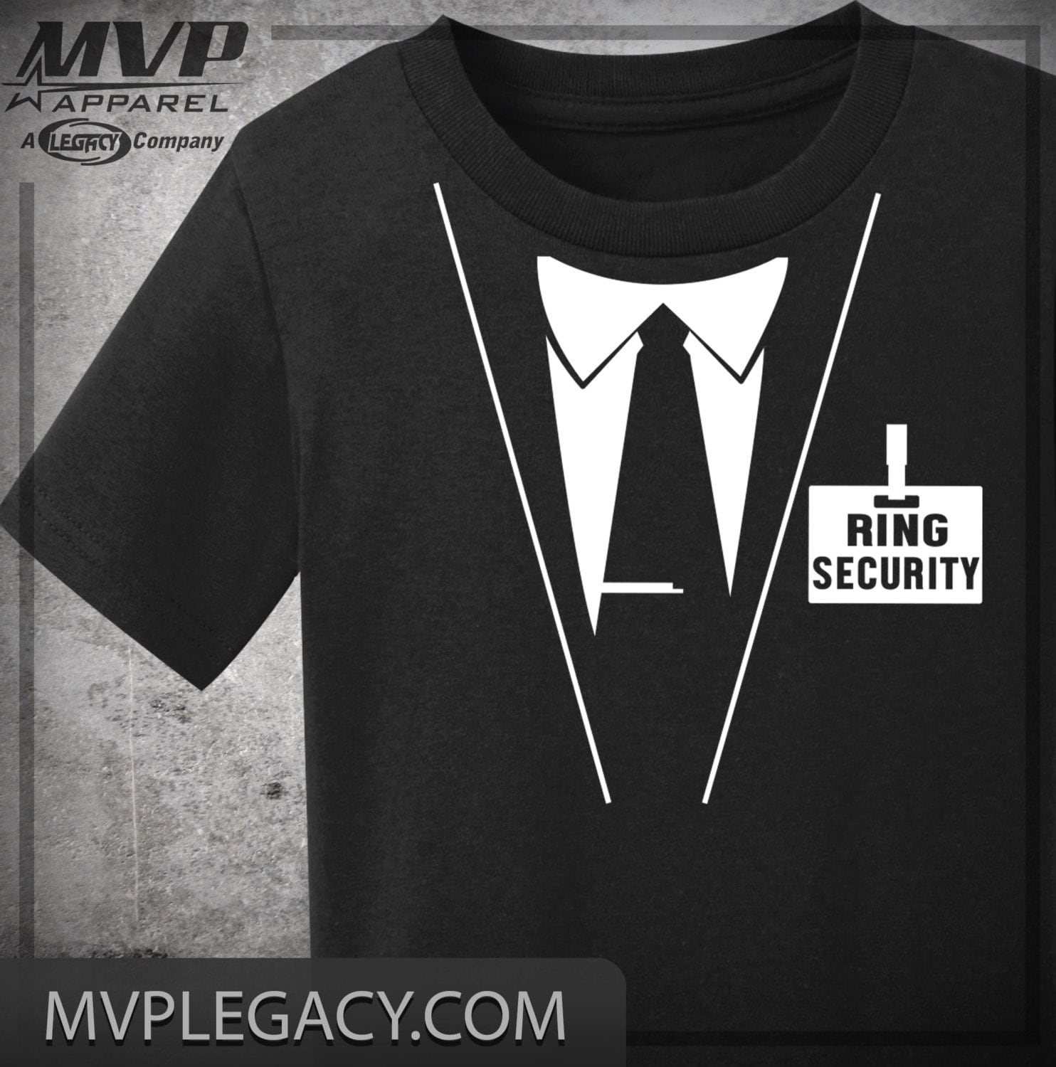 Ring Bearer Tee Ring Security Shirt Wedding