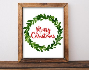 """Shop """"christmas print"""" in Art & Collectibles"""