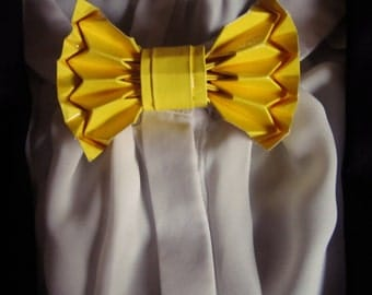 Red Origami bow tie