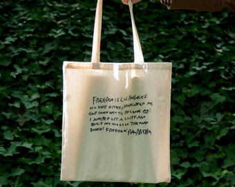 Ray Bradbury Quote Tote - The Freedom Cards Original