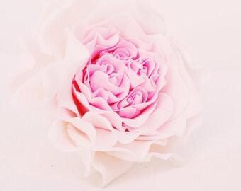 Large Sugar Rose Cake Topper - David Austins