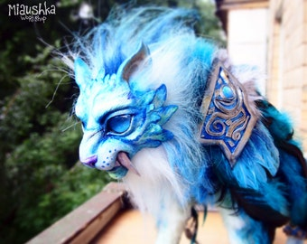 Fangs of Ashamane Druid handmade plushie [World of Warcraft]