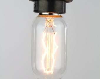 Eddystone : Decorative Tubular Squirrel Cage Edison Light Bulb E27 40W