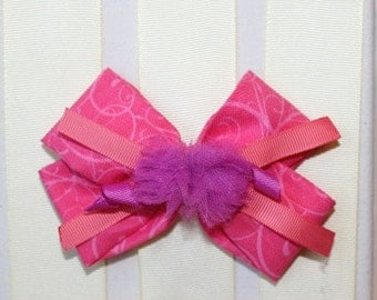 Fancy Nancy Hair Bow