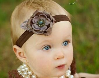 Flower Headband, Flower Clip, Hair Clip, Flower Bow, Baby Bow, Girls Bow, Baby Headband, Girls Headband, Girls, Baby Girls, Bows, Headbands