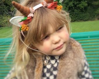 Woodland Animal Headband