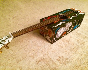 Wine Box Slide Guitar with Fishman pickups