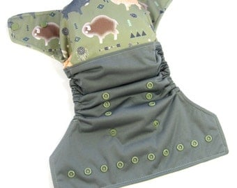 Buffalo OS Cloth Pocket Diaper