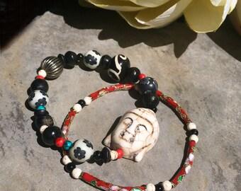 """Set of 2 bracelets """"Zen"""""""