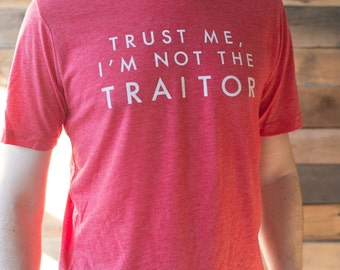 Board Game Tee - Trust Me, I'm Not the Traitor