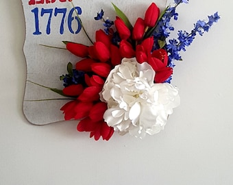 Patriotic - Fourth of July wall decor