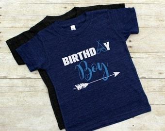 Birthday Boy Shirt - Boy's Birthday Shirt - Birthday Party Shirt - Boy's Birthday Tee - 1st Bday Shirt - 2nd Bday Shirt - 3rd Bday Shirt