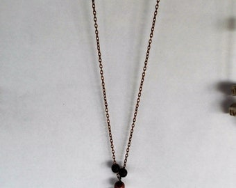 """20"""" Chain w/ Spike Necklace # 1/2"""