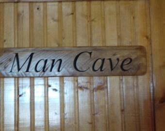Man Cave Wall Sign