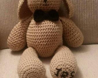 Bunny Rabbit, plush toy, crochet