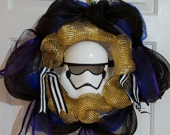 Star Wars Storm Trooper Wreath