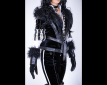 Yennefer cosplay costume from The Witcher 3: Wild Hunt, Yennefer of Vengerberg clothing, video game, witch, charmed, Halloween costume