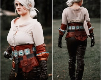 Ciri cosplay costume, The Witcher 3: Wild Hunt, Cirilla, Witcher 3 , character of video game, Fiona Elen Riannon, The Lion Cub of Cintra