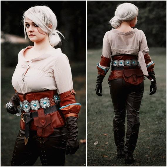 Ciri Cosplay Costume The Witcher 3 Wild Hunt Cirilla
