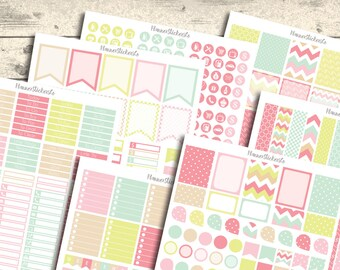 SALE 40% OFF Monthly Kit Printable Planner Stickers, Erin Condren Planner Stickers set, Monthly Planner Stickers, Colorful Stickers 2016
