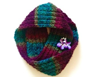 Mulberry Infinity Scarf