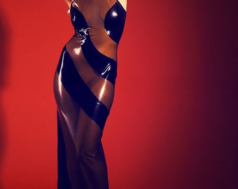 LATEX-DRESS KL0003