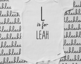 Name Onesie, Coming Home Outfit, Baby Name Onesie, Baby Girl Onesie, New Baby Gift