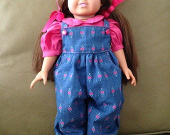 Coverall with Pink Blouse and Flower Sandals