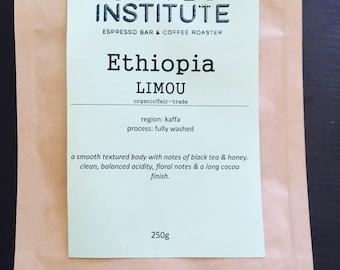 Ethiopia Limou Roasted Coffee Beans 250g