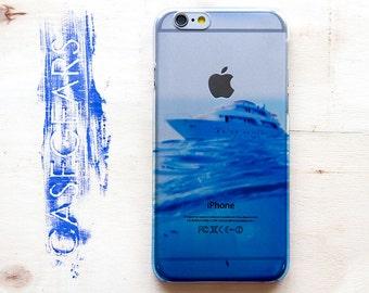 iPhone 6 Case Ocean Blue iPhone 6s Case iPhone 6 Plus Case Yacht iPhone 6s Plus Case Sea Ocean Phone 5 Case iPhone 5S Case Cover CG0040