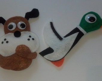 Duck Hunt Plush Magnets
