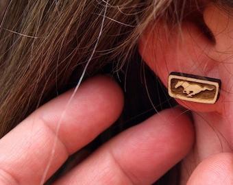 Classic Mustang Earrings
