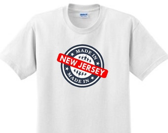 MADE in NEW JERSEY -T-Shirt