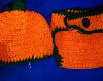 Diaper Cover and Hat Sets