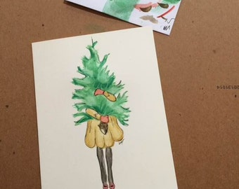 "Positive Paper Co. ""Tree Hugger"" Card"