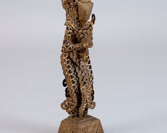 Vintage Balinese Kepeng Coin Statue
