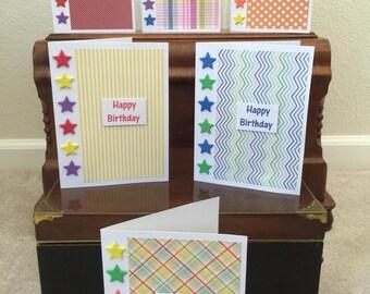Set of 6 Birthday Cards