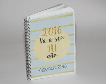 Calendar printable 2016. PDF printable